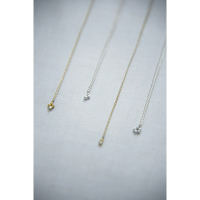 sprout long necklace画像